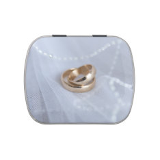 Wedding Bands Mint Tin Candy Tins at Zazzle