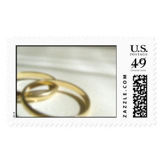 Wedding Bands Postage Stamp