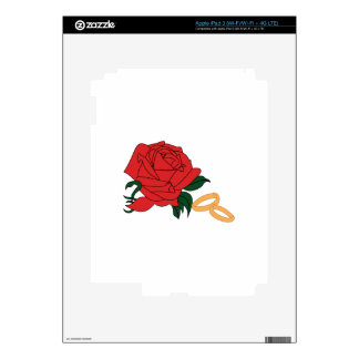 Wedding Bands & Rose Skins For iPad 3