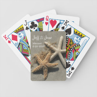 Wedding Beach Theme Playing Cards Bicycle Playing Cards
