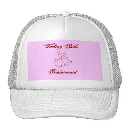 Wedding Belle Bridesmaid Trucker Hats