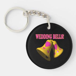 Wedding Bells 4 Keychain