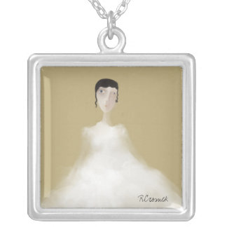 Wedding Bells are Ringing Silver Plated Necklace