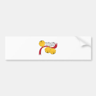 Wedding Bells Bumper Stickers