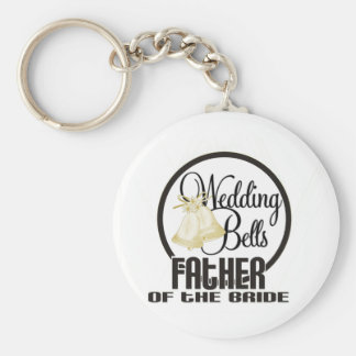Wedding Bells Father of the Groom Key Chain
