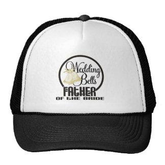 Wedding Bells Father of the Groom Trucker Hat
