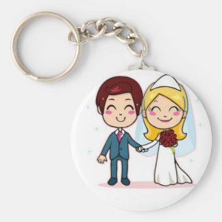 Wedding Bells Keychain