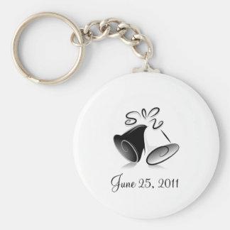 Wedding Bells Key Chains