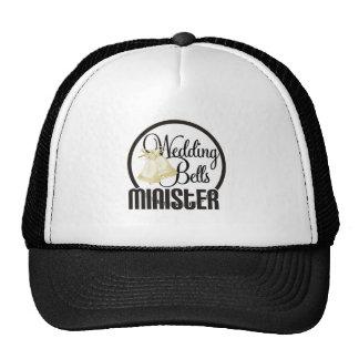 Wedding Bells Minister Mesh Hat