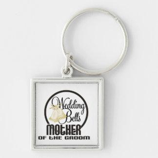 Wedding Bells Mother of the Groom Keychain