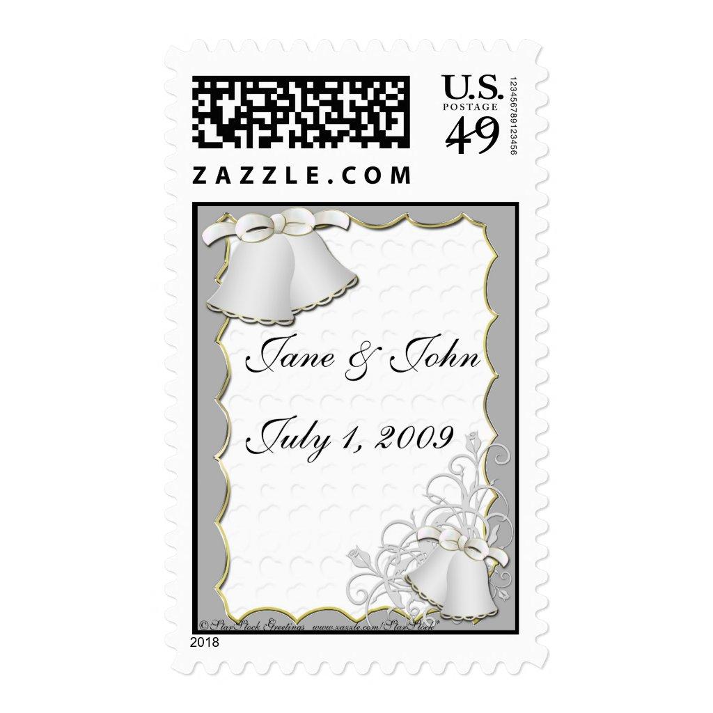 Wedding Bells Postage
