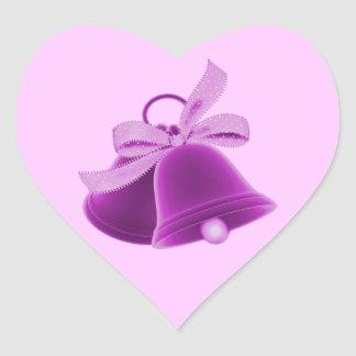 """Wedding Bells"" - Rich Purple [a] Stickers"
