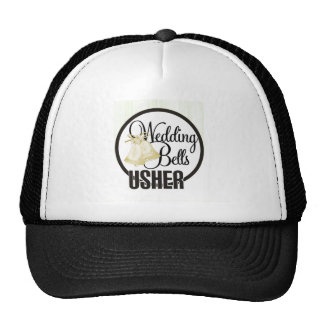 Wedding Bells Usher Trucker Hat