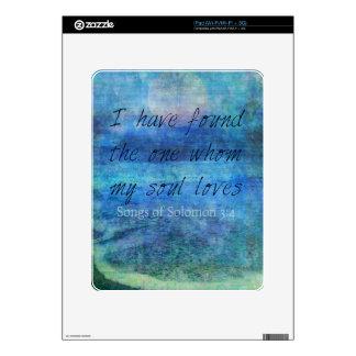 Wedding Bible Verse Art Scripture ocean sea iPad Decals