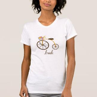 Wedding Bike Tee Shirt