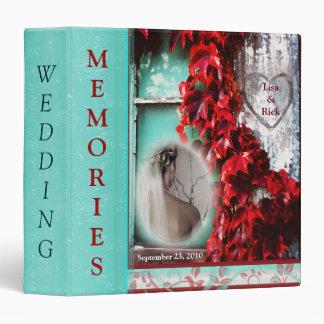 Wedding Binder - Custom Photo Text