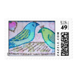 Wedding Birds of a Feather Stamps