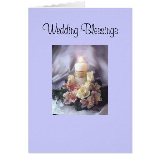 Wedding Blessings Card