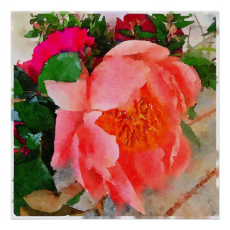 Wedding bloom poster