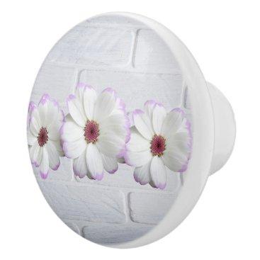 Bride Themed Wedding Blossoms Romantic Destiny's Destiny Ceramic Knob