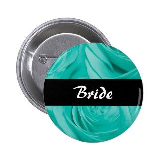 Wedding blue buttons & badges - customize