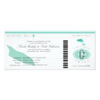 Wedding Boarding Pass to Aruba Card (<em>$2.57</em>)