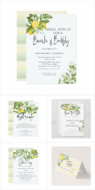 WEDDING | BOHO Lemons And Blossoms