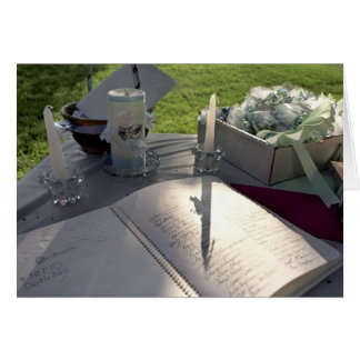Wedding Book - note card