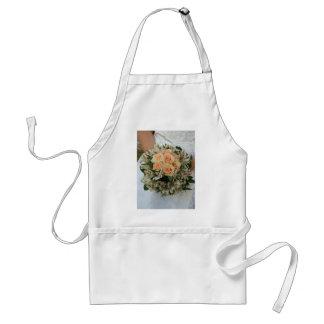 wedding bouquet adult apron