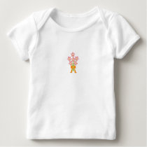 Wedding Bouquet Baby Long Sleeve Baby T-Shirt