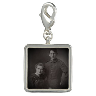 Wedding bouquet charm | memorial photo charm