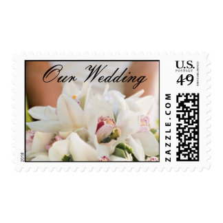 Wedding Bouquet - Customized Postage Stamp