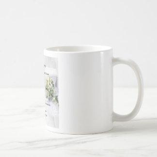 wedding bouquet   Daughter Poem Coffee Mug