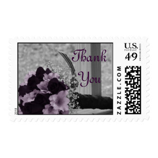 Wedding Bouquet Thank You Stamps