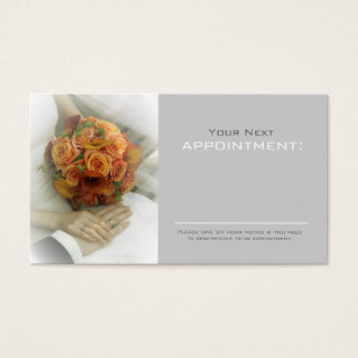 wedding bouquets wedding planner business business card
