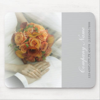 wedding bouquets wedding planner business mouse pad