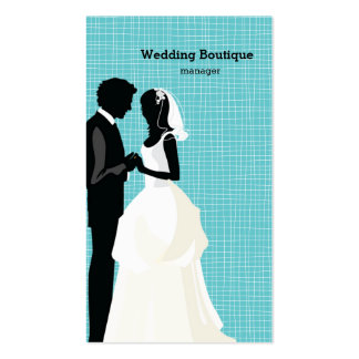 Wedding boutique Double-Sided standard business cards (Pack of 100)