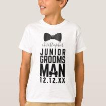 Wedding Bow Tie Junior Groomsman T-Shirt