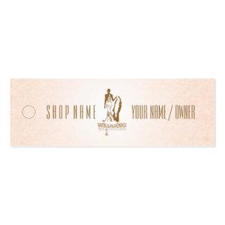 WEDDING Bridal & Evening Fashion - Price Tag Business Card