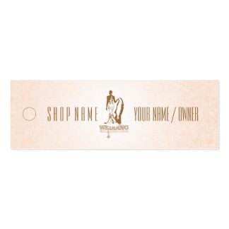 WEDDING Bridal & Evening Fashion - Price Tag Double-Sided Mini Business Cards (Pack Of 20)