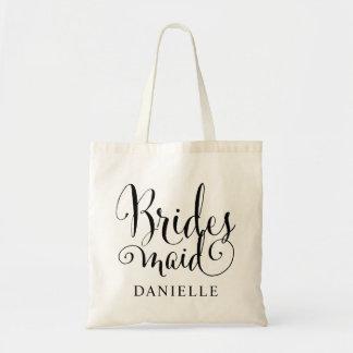 Wedding Bridal Party   Bridesmaid Tote Bag