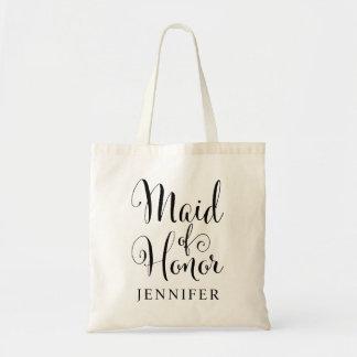 Wedding Bridal Party | Maid of Honor Tote Bag