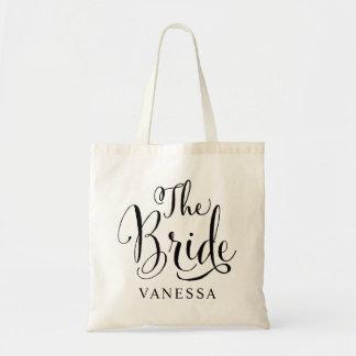 Wedding Bridal Party | The Bride Tote Bag