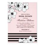 Wedding Bridal Shower Invitation | Anemone Flowers Card