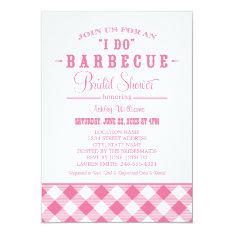 Wedding Bridal Shower Invitation | Casual BBQ at Zazzle