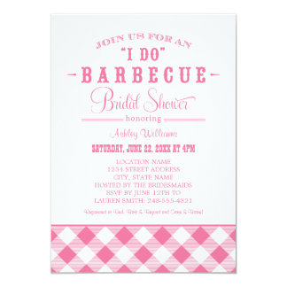 Wedding Bridal Shower Invitation | Casual BBQ