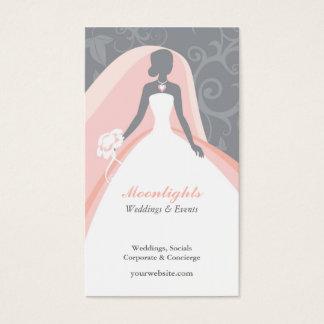 Wedding Bridal White Dress Business Card