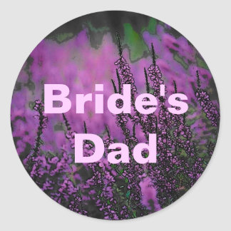 Wedding (Bride-Dad) Sticker