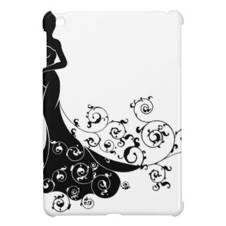 Wedding Bride Silhouette iPad Mini Cover