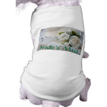 Wedding Bride's Maid Pet Clothing